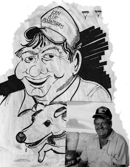Caricatures by Jack Cassady